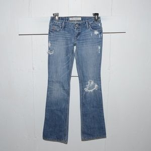 Holister boot womens jeans size 1 R 9784
